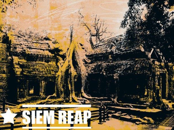 Tah Prom Temple Ruins, Siem Reap